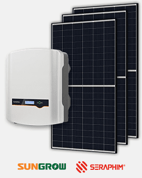 solar inverter solar panels package